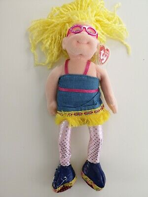 TY Beanie Boppers Doll With Tag - Kooky Kandy - See Photos - Some Wear • 5£