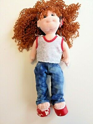 TY Beanie Boppers Doll With Tag And Costume - Giggly Gracie - Flaking Shoes! • 5£