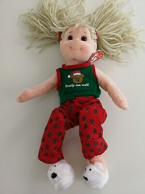 TY Beanie Boppers Doll With Tag - Jolly Janie • 5£