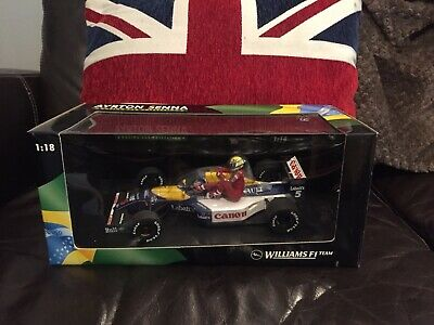 Minichamps Nigel Mansell Ayrton Senna Taxi Williams R FW14 1:18 British GP 1991 • 160£