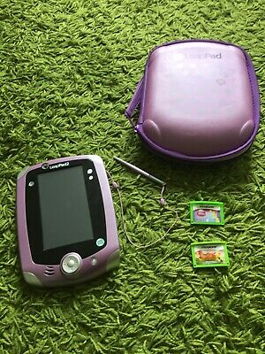 LeapPad With Two Games And Case Included • 14£