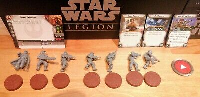Star Wars Legion Rebel Troopers From The Core Set • 9.99£