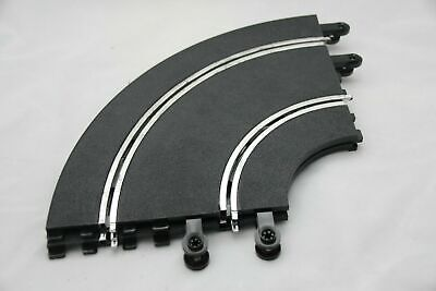 SCALEXTRIC CLASSIC TRACK - PT56 - DOUBLE INNER CURVES - X2 - NEW OLD STOCK • 14.99£