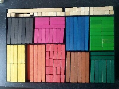 CUISENAIRE Educational Maths Rods • 4.50£