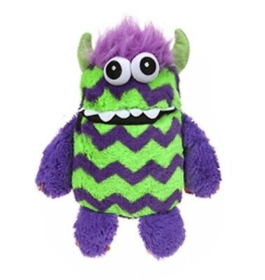Children's Soft Plush Worry Monster Eat Your Worries & Scares Away Purple Green • 9.99£