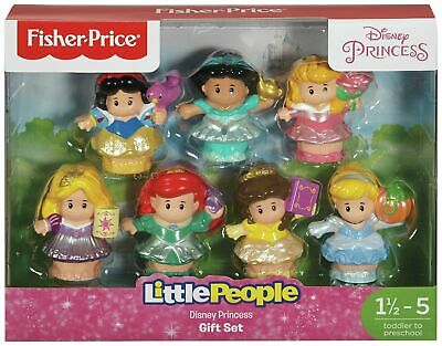 Fisher Price World Of Little People Disney Princess Figures • 24.99£