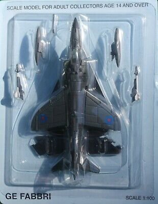 Aircraft Combat Collection No 9 GE FABBRI Scale 1:100 BAE Sea Harrier • 8.99£
