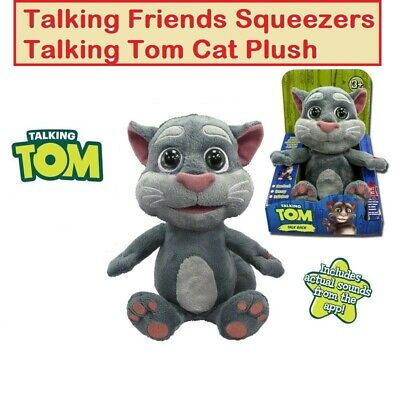 9'' Talking Tom Cat Plush Toy With Different Funny Voices BEST GIFT FOR KIDS • 19.99£