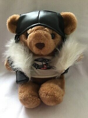 Pilot Teddy Bear, Collectable Plush Toy • 1£