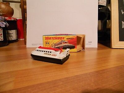 Vintage Matchbox Hovercraft Model In Mint Condition, Boxed. • 15£