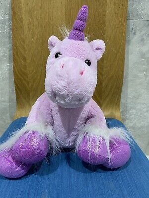 Pink Unicorn Soft Toy Excellent Cond • 1£