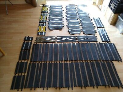 Vintage Scalextric Track Reconditioned X55 Pieces • 100£
