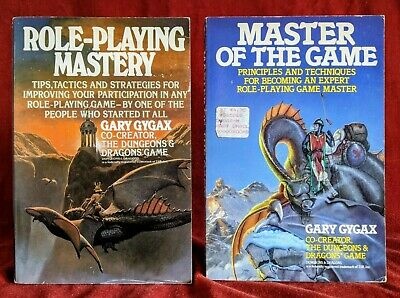 Role-Playing Mastery & Master Of The Game By Gary Gygax, Co-creator Of D&D • 26£