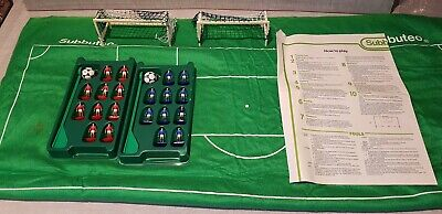 Subbuteo Job Lot   SPARES   From Set 60140   Pitch, Players, Goals, Instructions • 9.99£