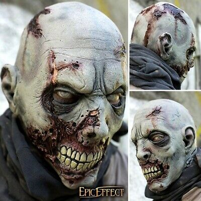 High Quality Latex Undead Scarface Mask In GREY. Perfect For Costume, Stage &... • 62£