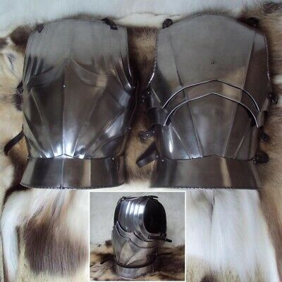 Medieval Steel Gothic Style Chest Armour - Ideal For Re-Enactment Or LARP • 193£