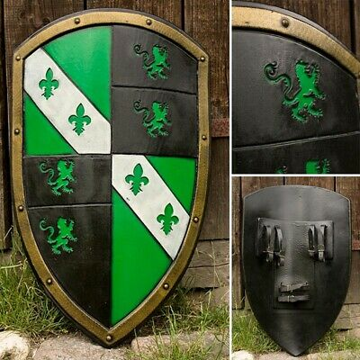 Foam & Latex Green Lion Kite Shield - LARP / Roleplay Ready • 108£
