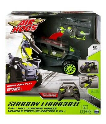 Vehicle Radio-Controlled Jeep Air Hogs Shadow Launcher RC 03677 • 44.99£