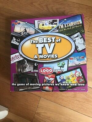 The Best Of TV And Movies The Logo Board Game - Fantastic Condition • 6.50£