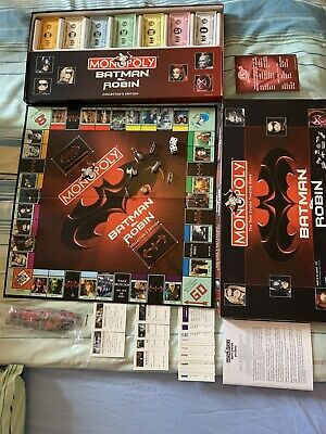 Monopoly-batman & Robin Collectors Edition-1997-rare-amazing Condition • 12.10£