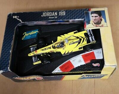 Hot Wheels 1/43 Scale - 22811 Jordan 199 Damon Hill F1 Diecast Model Car • 4.99£