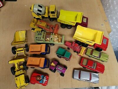 Lesney Matchbox Job Lot Of Mixed Vintage Diecast. Various Conditions • 14.99£