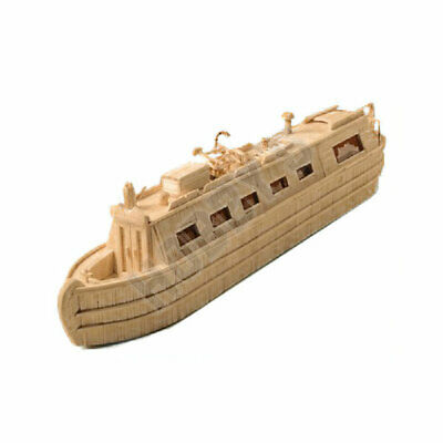 Hobby's Canal Boat Matchmodeller Match Craft Matchstick Model Kit • 17.95£