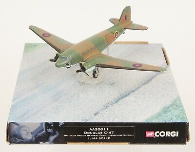 Corgi Aviation 1/72nd AA30011 Douglas C-47 BBMF NEAR MINT Boxed • 15£