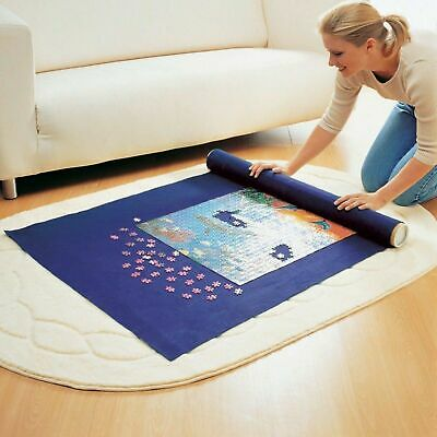 Giant Puzzle Roll-up Mat Jigsaw Jumbo Large 3000 Pieces Fun Game Easy Storage • 6.85£