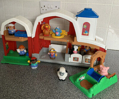 Fisher Price Little People Farm With Animals Toy Playset • 12£