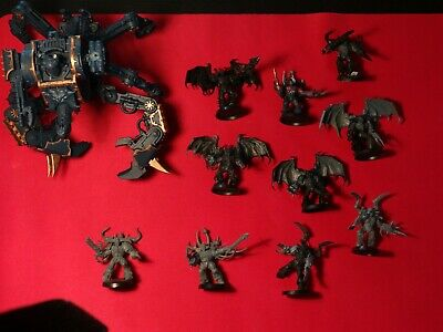 Warhammer 40k Chaos Defiler And 10 Chaos Possessed Bundle • 20£