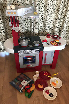 Kids Toy Kitchen Play Set By Miele With Accessories And Play Food • 40£