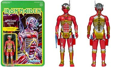 Iron Maiden ReAction Figure -  Somewhere In Time Album Art Limited Edition • 25.99£