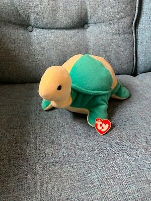 VINTAGE Ty Pillow Pal - Snap The Turtle • 10£