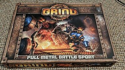 Steam Powered Robot Battle Sport Board Game Privateer Press Grind Used • 19£