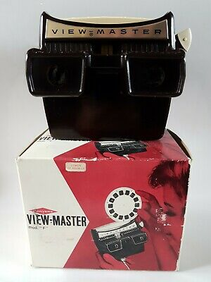 Sawyers Viewmaster Model F 1959-1966 Mint Condition, Boxed, Good Working Order • 19.99£
