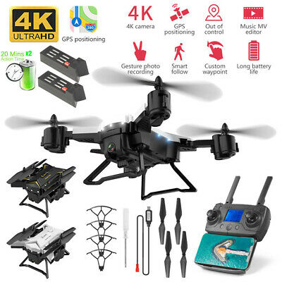 KY601G GPS Drone With 4K HD Camera 5G WIFI FPV RC Quadcopter Foldable Drone UK • 98.99£