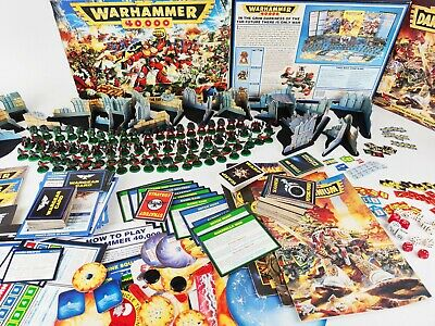 Warhammer 40k 2nd Edition + DARK MILLENNIUM Well Painted + Many Extras[ENG,1993] • 299.95£