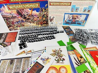 The Game Of Fantasy Battles 4th Edition, Warhammer Complete [ENG,1992] • 189.95£