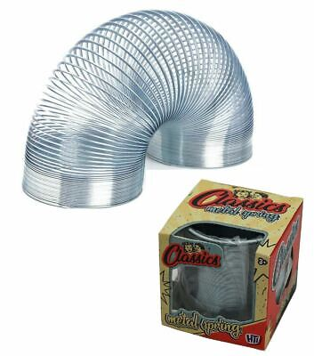 7cm Large Metal Spring Classic Retro Springy Slinky Toy Stocking Filler Gift • 5.99£