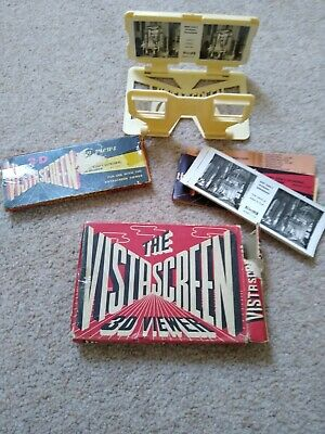 Vintage VistaScreen 3D Viewer And Photos • 10£