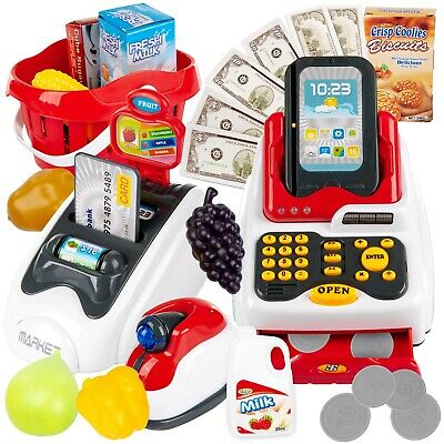 Cash Register With A Basket Credit Cart Phone Accessories • 23.90£