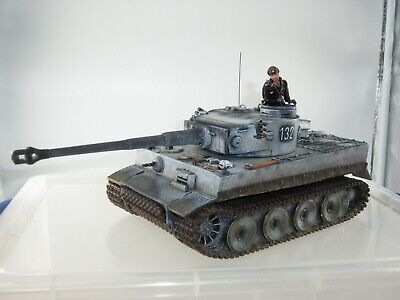 King And Country Ws220 German Winter Tiger Tank + Driver Metal Toy Soldier Set • 499.99£