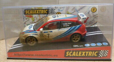 SCX 6050 Ford Focus WRC #7 Colin McRae Grist Factory Weathered  Lights Boxed • 45£