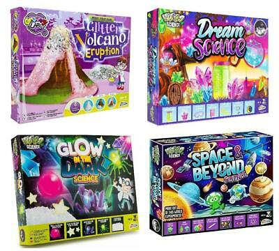 Kids Science Experiment Kits Glitter Volcano Eruption Space Educational Toy • 7.29£