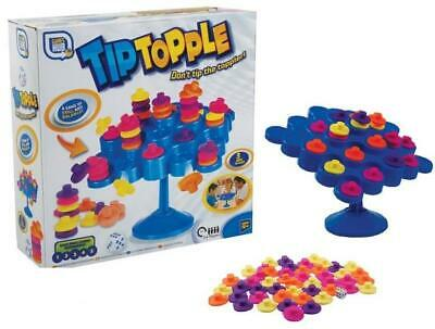 Tip Topple Tumble Strategy  Balancing Skill Kids Family Board Game Fun Toy Gift • 7.40£