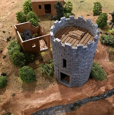 28mm Stone Tower (Culverin Models) • 12£