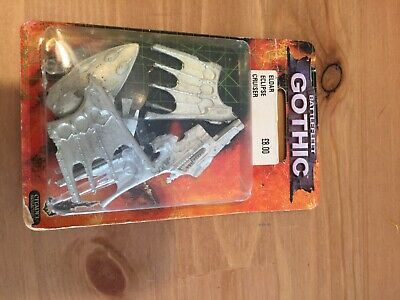 Battlefleet Gothic Eldar Metal Eclipse Class Cruiser In Original Packaging • 30£