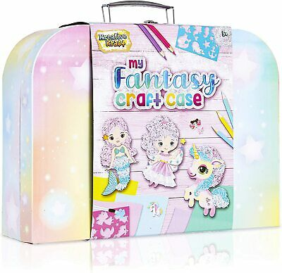 KreativeKraft Art Sets For Girls With Unicorn Stickers, Arts And Crafts For Kids • 14.39£