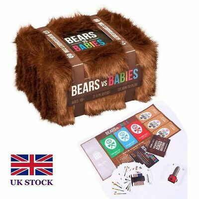 Bears Vs Babies - A Monster-Building Card Game - Family-Friendly Party Game UK • 13.89£